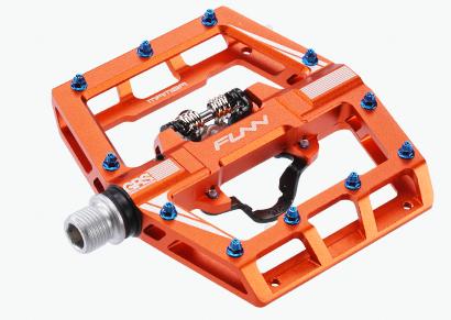 MTB Klickpedale Funn Mamba (One click/450gr) - Orange