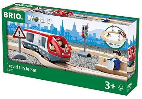 BRIO World 33511 - Bahn Starter Set Personenzug [Amazon Prime]