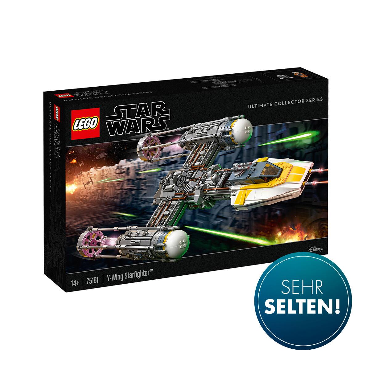 Lego 75181 Y-Wing (EOL), 75244 Tantive IV je 160,74 €, Lego 21309 Saturn 99,99 €