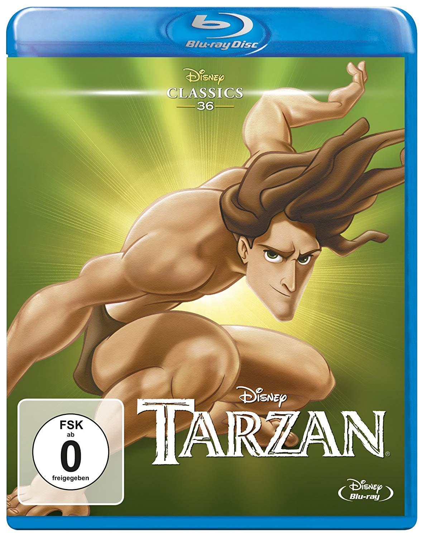 [Amazon Prime] Tarzan Disney Classics [Blu-Ray] & Weitere (Mulan, Aladdin, Arielle, Robin Hood, Cinderella, Die Schöne und das Biest usw.)