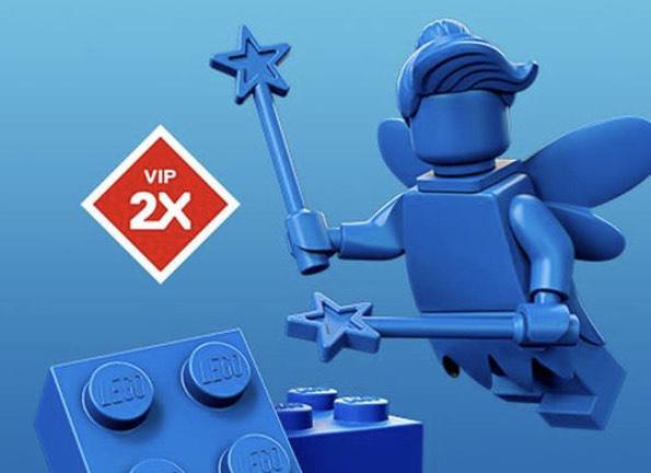 LEGO Shop/Store 2x VIP-Punkte für VIP-Mitglieder
