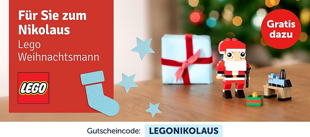 LEGO 30573 Nikolaus zu jeder Bestellung ab 15 Euro