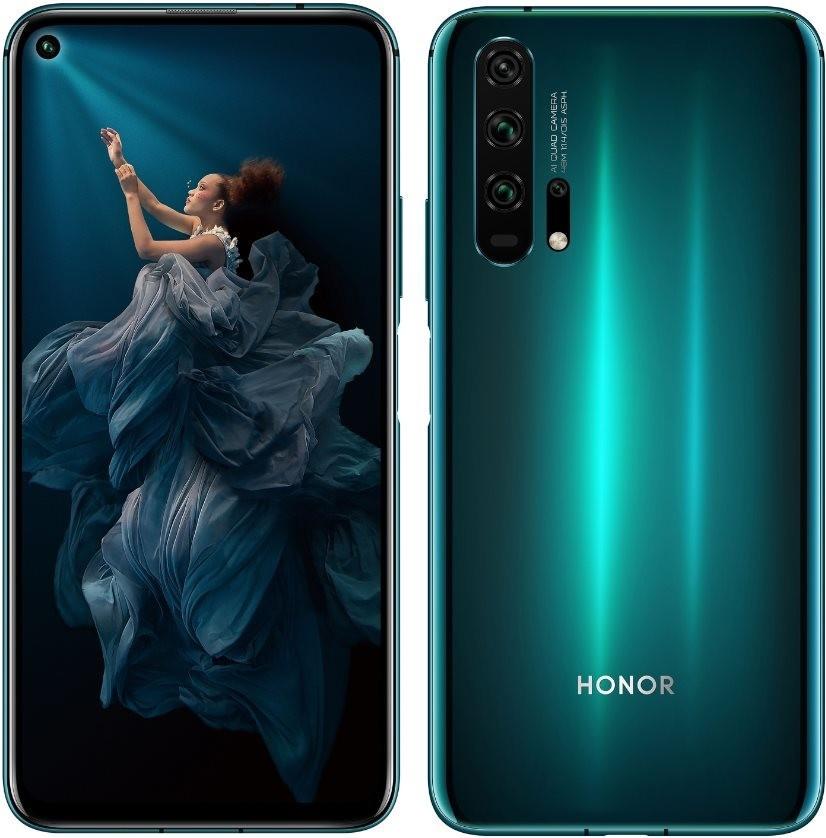 """Smartphone-Angebote: z.B. Honor 20 Pro Phantom Blue (6.26"""", 2340x1080, Kirin 980, 8GB RAM, 256GB, USB-C, BT5, NFC, IR, Dual-SIM)"""