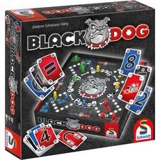 """Schmidt-Spiele Brettspiel """"Black Dog"""" (Spiel und Puzzle, 2-4 Spieler, Ab 8 Jahren) [ALTERNATE / Amazon-Prime]"""