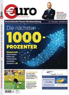 Euro am Sonntag Magazin Abo (25 Ausgaben) für 112,50 € mit 115 € BestChoice-Gutschein
