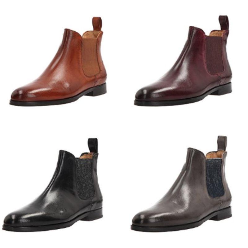 MELVIN & HAMILTON Chelsea-Boots 'Susan 10' aus Leder in 4 Farben und allen Größen zw. 36 und 42 - versandkostenfrei