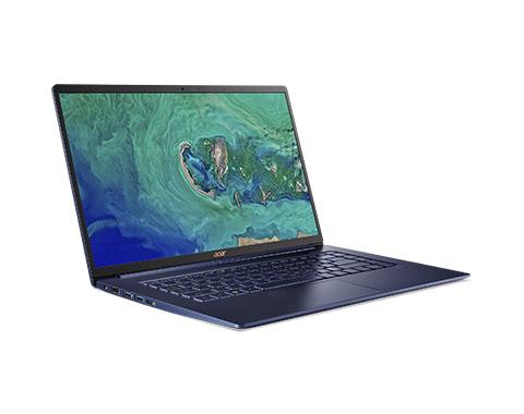 [Acer Store] Acer Swift 5 blau Notebook, 15.6 Zoll Multi Touch IPS, i7-8565U 4x 1.80GHz, 8GB RAM, 256GB, Slim Bezel, 990 Gramm
