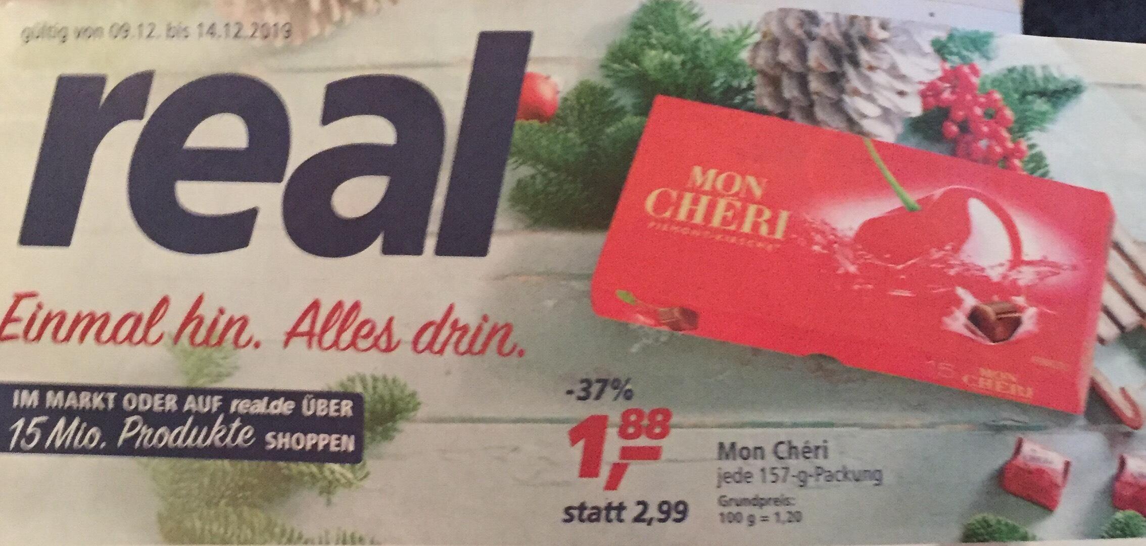 Ferrero Mon Cheri ( 157g ) ab 09.12.19 bei Real