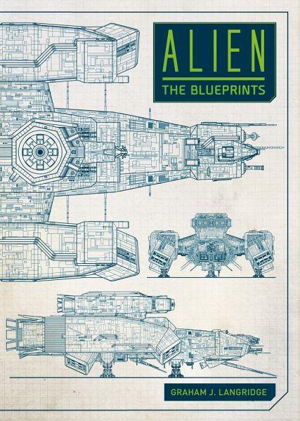 Buch: Alien, The Blueprints - Hardcover, engl., 156 Seiten