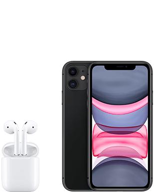 [Young MagentaEINS] Apple iPhone 11 64GB und Airpods 2 im Telekom Magenta Mobil M (24GB LTE/5G) mtl. 39,95€ und einm. 29€