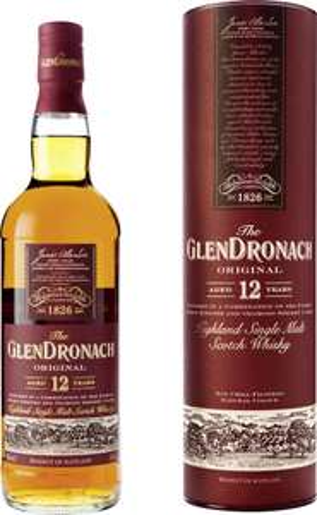 Glendronach 12 Jahre Single Malt Whisky (0,7l 43%)