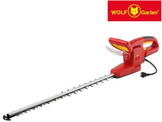 """Wolf-Garten Elektrische Heckenschere """"HSE 55 V"""" (55 cm Schwert, 650 W, Um 180° drehbar, In 5 Positionen arretierbar) [iBOOD]"""