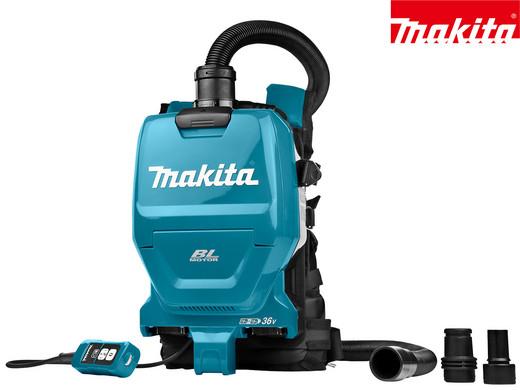 "Makita 36V-Rucksack-Staubsauger ""DVC260ZX"" (Sologerät, Brushless, HEPA-Filter, Betrieb mit 18V-Akkus) [iBOOD]"