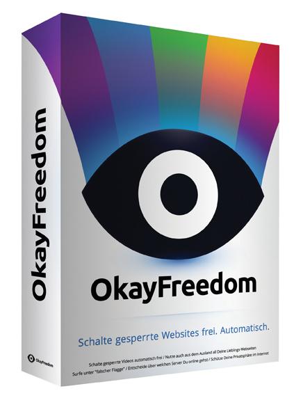 CHIP Adventskalender (Tür 7) OkayFreedom VPN - 1-Jahresversion