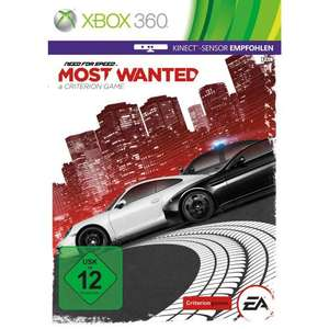 Need For Speed: Most Wanted nur für XBox 360