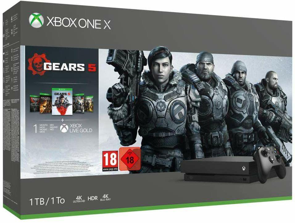 Microsoft Xbox One X 1TB - Gears 5 für 295.64€ (extreme digital)