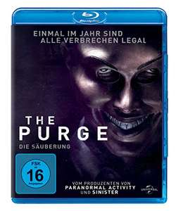 The Purge - Die Säuberung (Blu-ray) für 5€ (Amazon Prime & Saturn)
