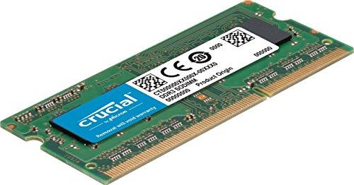 Crucial CT102464BF160B 8GB Speicher (DDR3L, 1600 MT/s, PC3L-12800, SODIMM, 204-Pin (AMAZON)