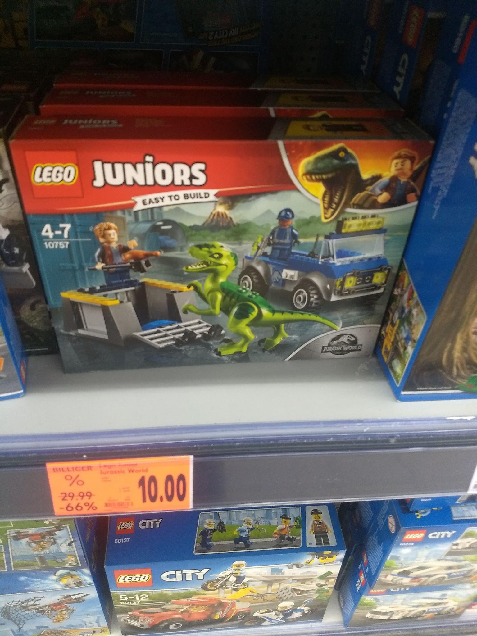 [lokal Kaufland] LEGO Juniors Jurassic World - Raptoren Rettungstransporter