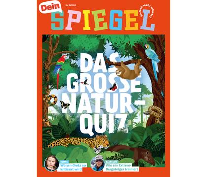 """""""Dein Spiegel"""" - 3 Monate kostenlos - selbstkündigend - Das Nachrichten-Magazin für junge Leser ab 8 Jahren."""