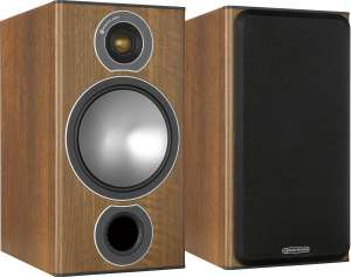 Monitor Audio Bronze 2: Regallautsprecher (Paarpreis, 2-Wege, 2,5cm Hochtöner, 16,5cm Tieftöner, 42Hz - 30kHz, 90dB, 8Ω)