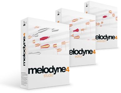 Melodyne 4 Upgrades (von allen Versionen) z.B. Assistant auf Editor