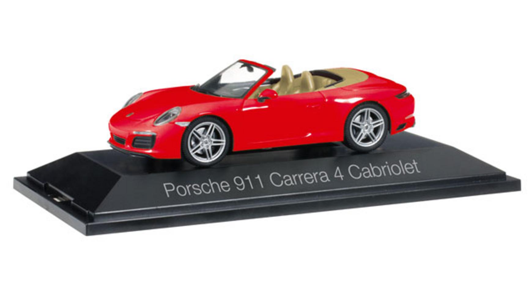 [Müller online] Herpa Automodelle (1:43) für 15€, z.B. 071109 Porsche 911 Carrera 4 Cabriolet