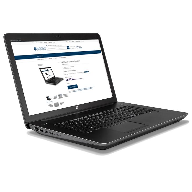 HP ZBook 17 G4 i7-7820HQ - 17.3″ FHD Touch, 32GB RAM, 1TB NVMe SSD, Windows 10 Pro , Quadro M2200