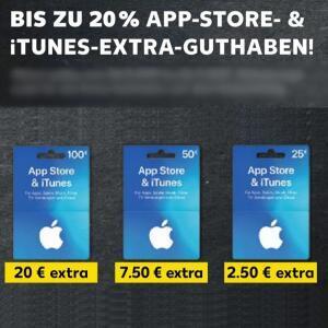 [Kaufland] Bis zu 20% extra Guthaben auf App Store & iTunes Geschenkkarten ab 19.12.