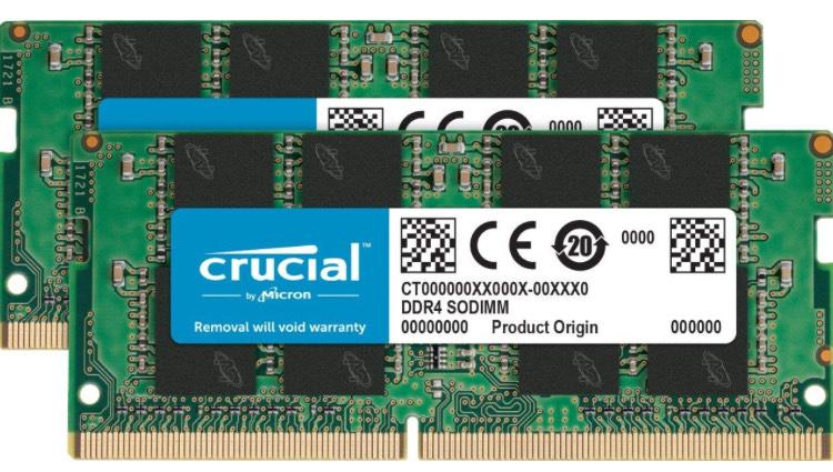 Crucial CT2K16G4SFD8266 (2x16gb RAM) Arbeitsspeicher Apple iMac 2019 (2017?) kompatibel