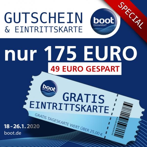 Für Taucher: 199€ Gutschein (auch online einlösbar) & Zutritt zur Messe Boot