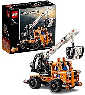 Lego 42088 Technic Hubarbeitsbühne für 7,29€ & LEGO 60224 - City Satelliten-Wartungsmission für 8,19€ [Amazon Prime]
