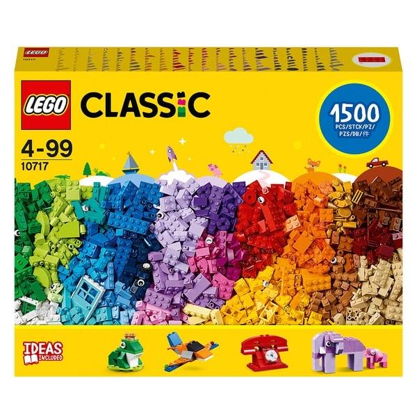 LEGO Classic 10717 - Extragroße Steinebox mit 1500 Teilen