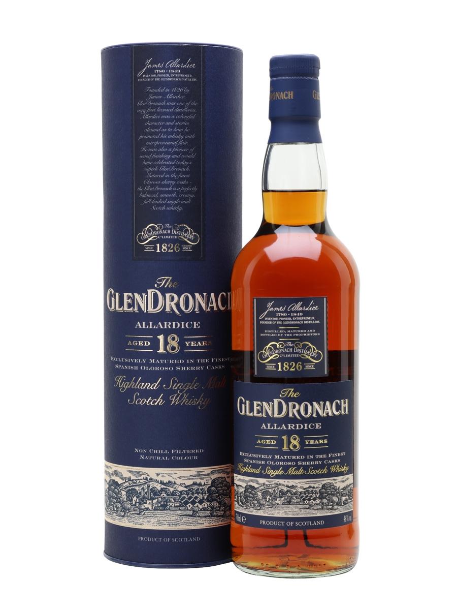 Glendronach 18 2018, Glendronach 2008, Glen Scotia 25, Glenturret 30, Ledaig 18, Tamdhu 15 und weitere Single Malt Whiskys