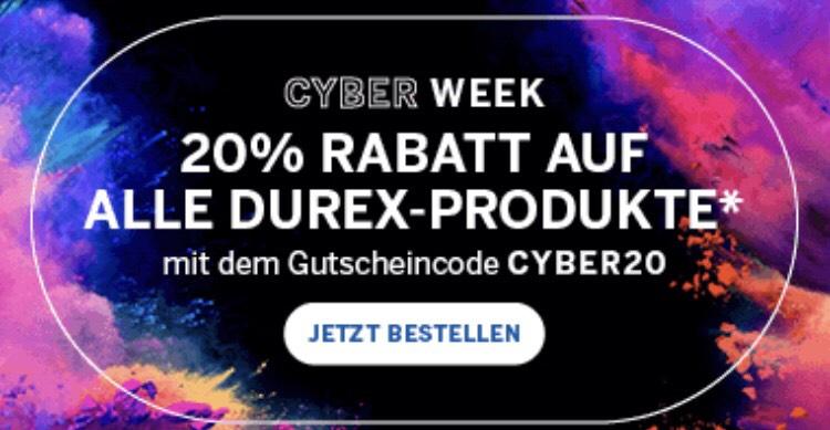20% auf alles bei DUREX