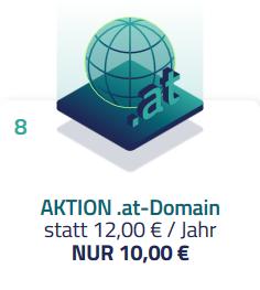 [netcup] .AT-Domain dauerhaft €10/Jahr