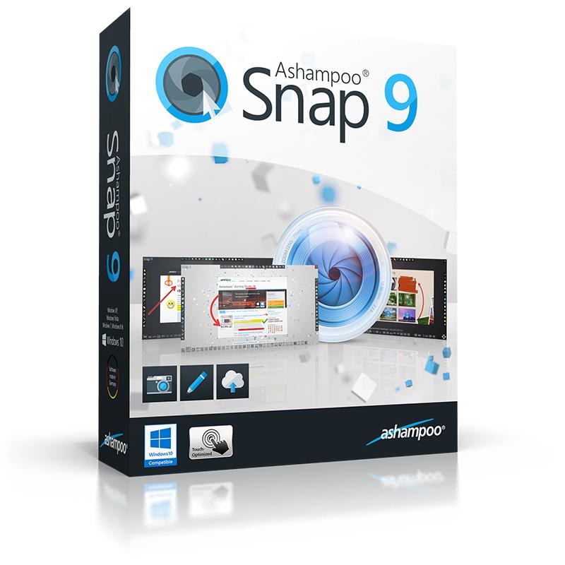 Ashampoo Snap 9 - Vollversion GRATIS