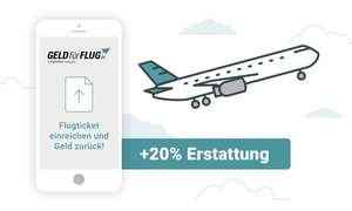 [Groupon] +20% mehr Erstattung für ungenutzte Flüge innerhalb der letzten 3 Jahre mit Geld-für-Flug.de