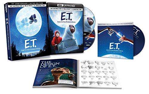 [Amazon.com] E.T. - 35th Anniversary Collectors Edition - 4K / UHD Bluray - nur OV - für Sammler interessant