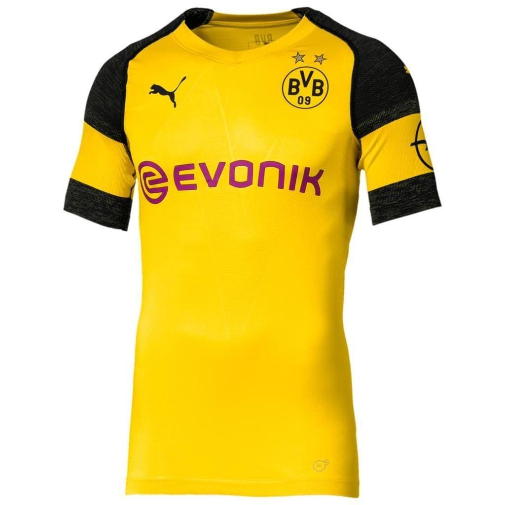 Puma BVB Borussia Dortmund Herren evoKNIT Authentic Heimtrikot 18/19
