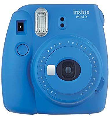 Fujifilm Instax Mini 9 Kamera, Kobalt-blau & Lime Grün für je 49€ [Amazon]