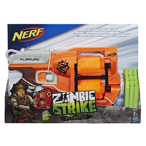[Prime] Hasbro Nerf A9603EU4 - Zombie Strike FlipFury