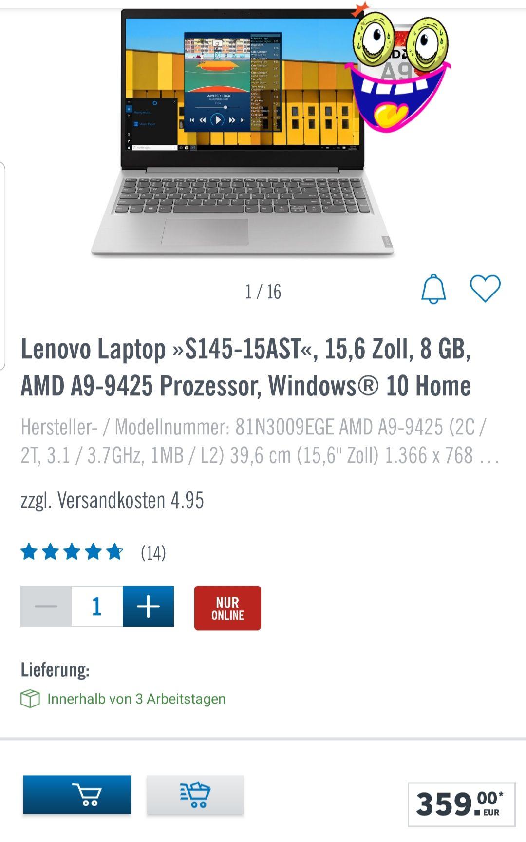 LIDL Lenovo Laptop
