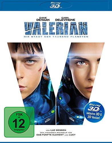 Valerian - Die Stadt der tausend Planeten (3D Blu-ray) für 9,97€ (Amazon Prime)