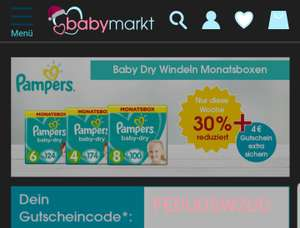 Pampers baby-dry MONATSBOX