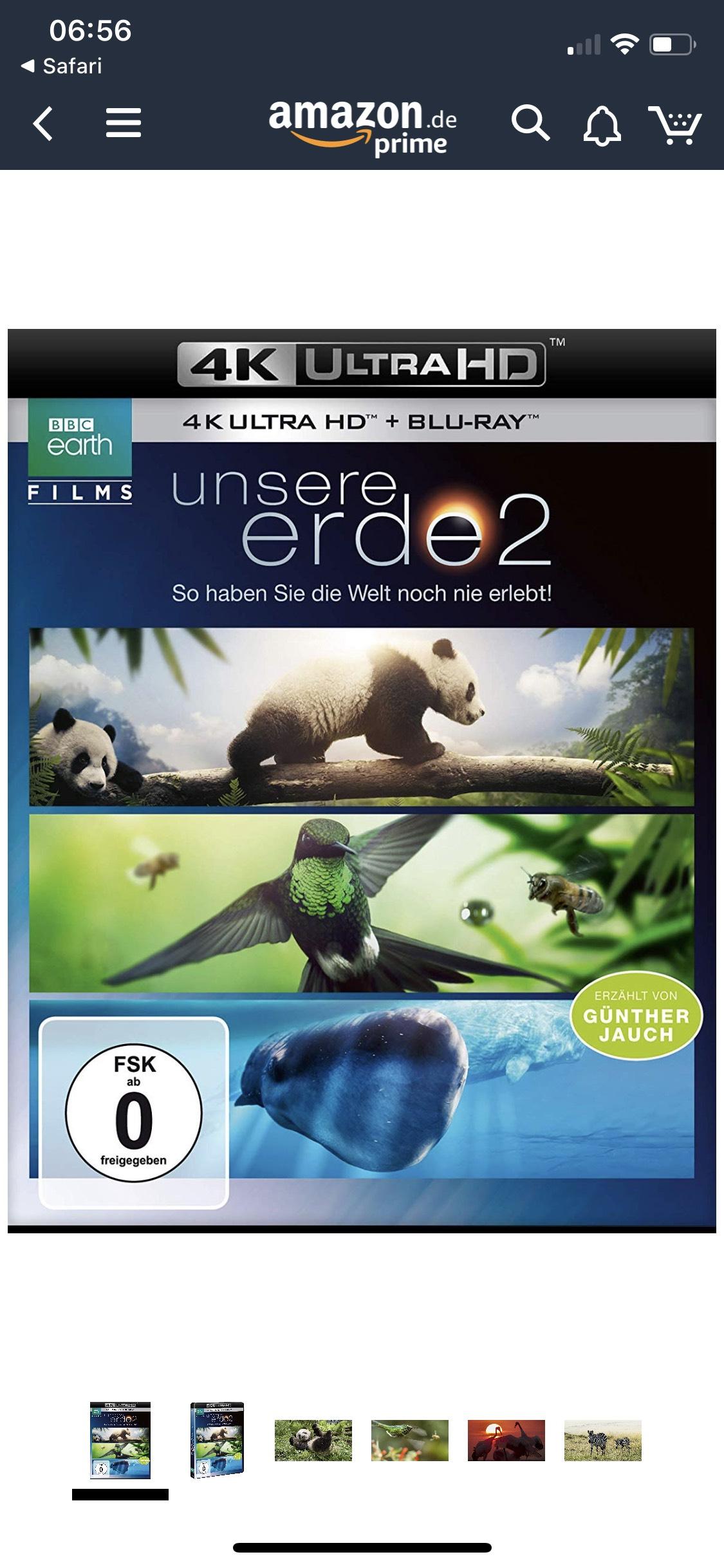 Unsere Erde 2 (4K Ultra HD)