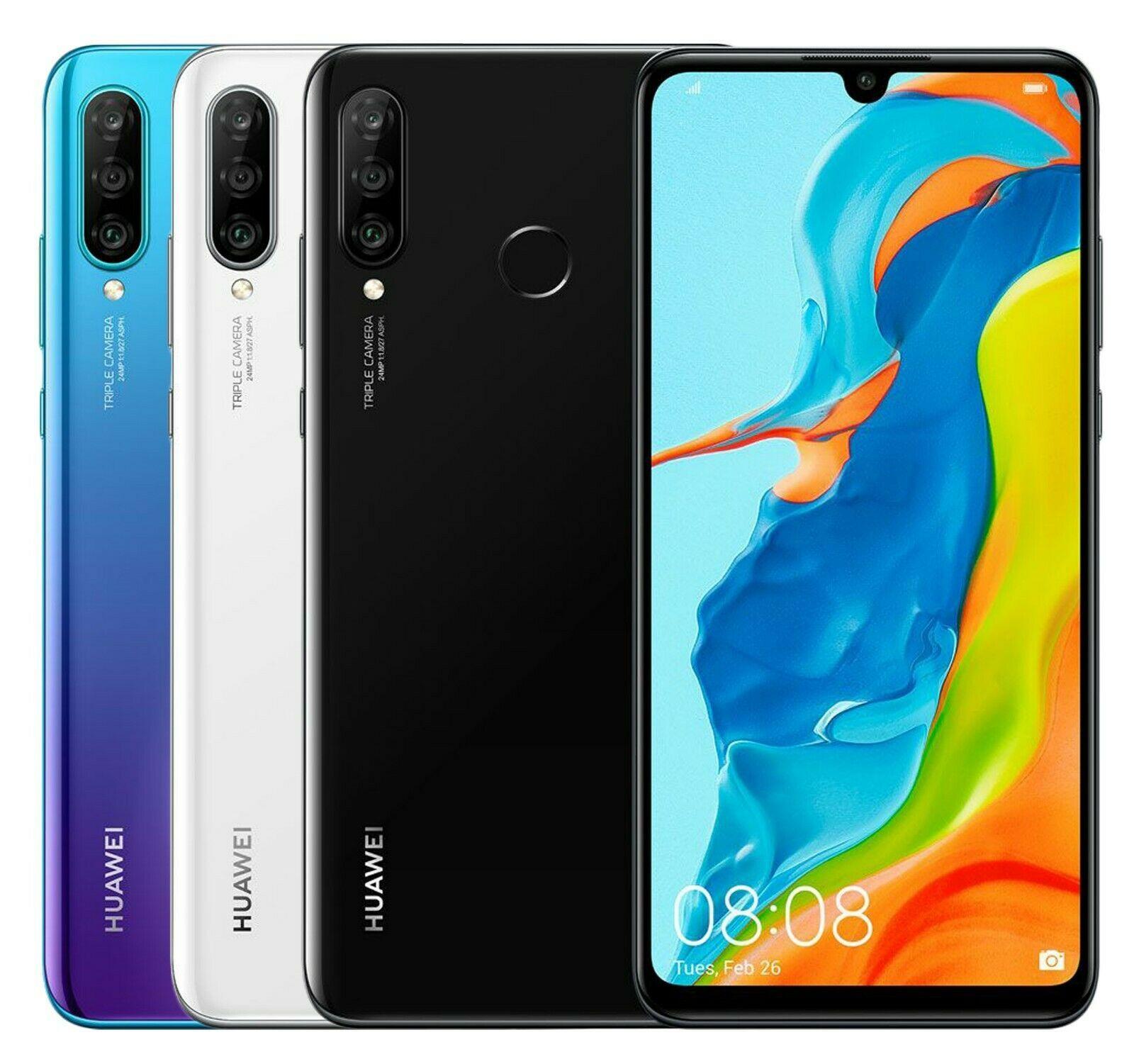 "Huawei P30 lite - 6.15"" Dual-SIM Smartphone (4GB / 128GB, USB-C, NFC, Android 9) in 4x Farben"