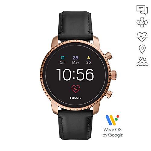 [AMAZON] Fossil Q Explorist (Gen 4) Herren-Smartwatch mit Leder Armband FTW4017