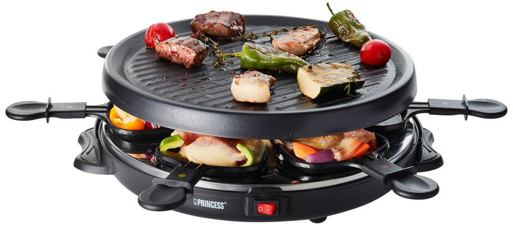 [Offline] PRINCESS Raclette-Grill 162725 für 6 Personen mit Grillplatte
