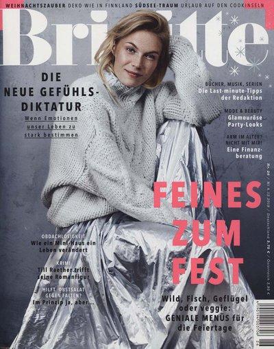 Brigitte Abo (27 Ausgaben) für 84,90 € mit einem 80 € Amazon-Gutschein / BestChoice-Gutschein + 50° Payback Punkte